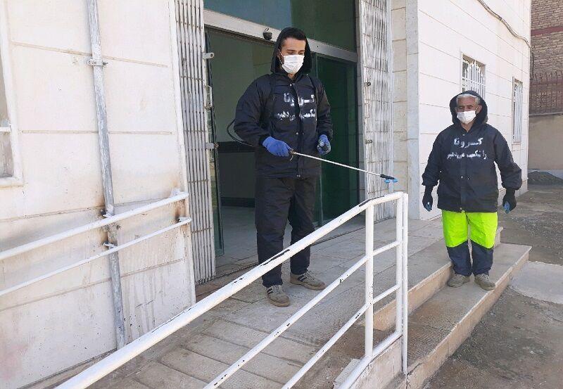 خبرنگاران ورود ناوگان نیروی دریایی شمال به گندزدایی شهرها و برخی تاسیسات گیلان