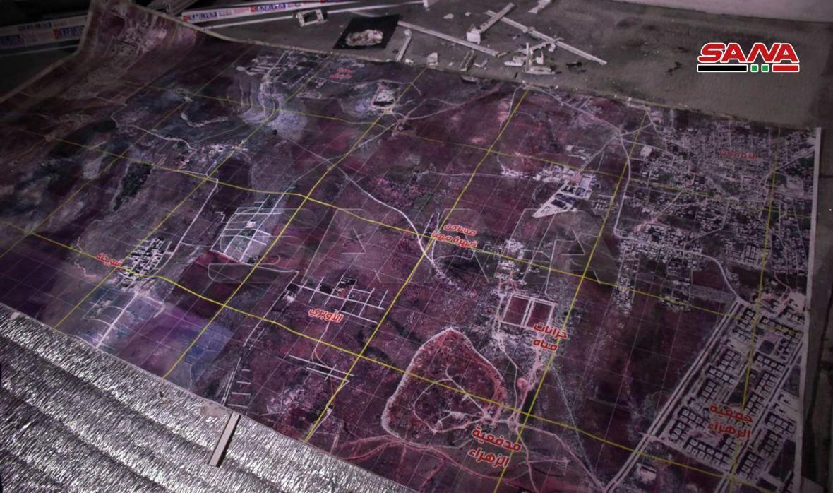 ارتش سوریه مقر زیرزمینی سرکرده جبهه النصره را کشف کرد