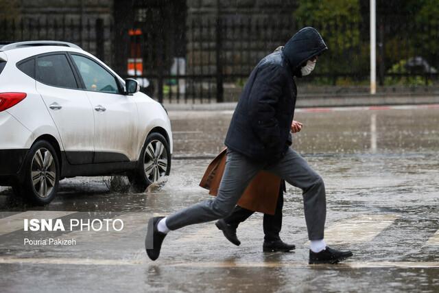 هشدار به فرمانداران برای بارندگی های یکشنبه و دوشنبه