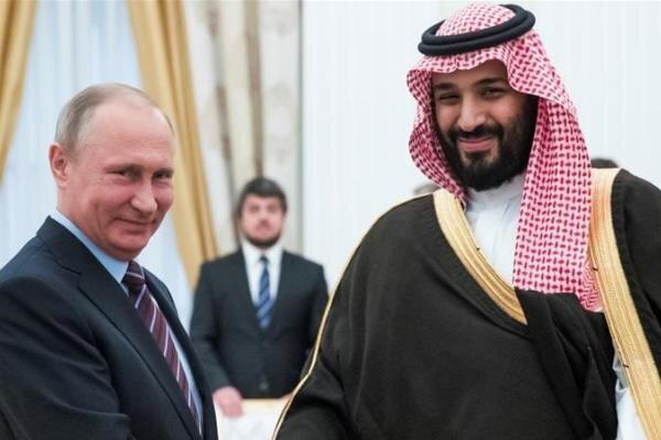 گفتگوی تلفنی پوتین و بن سلمان درباره کاهش تولید نفت