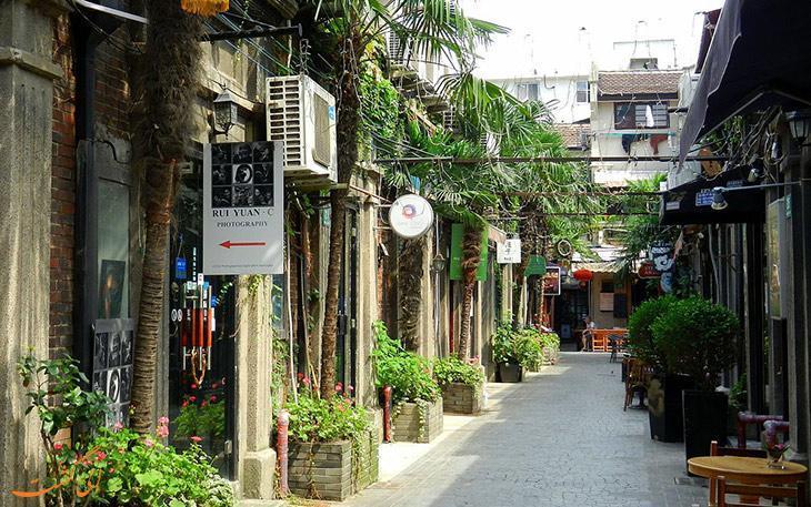آشنایی با محله تیانزیفانگ شانگهای، پاتوق نقاشان و هنرمندان