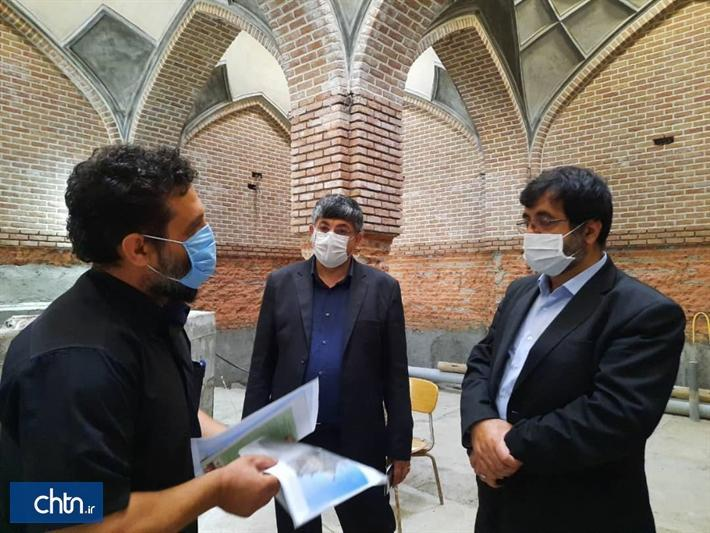 اختصاص اعتبار برای تسریع در عملیات بازسازی حمام تاریخی یعقوبیه