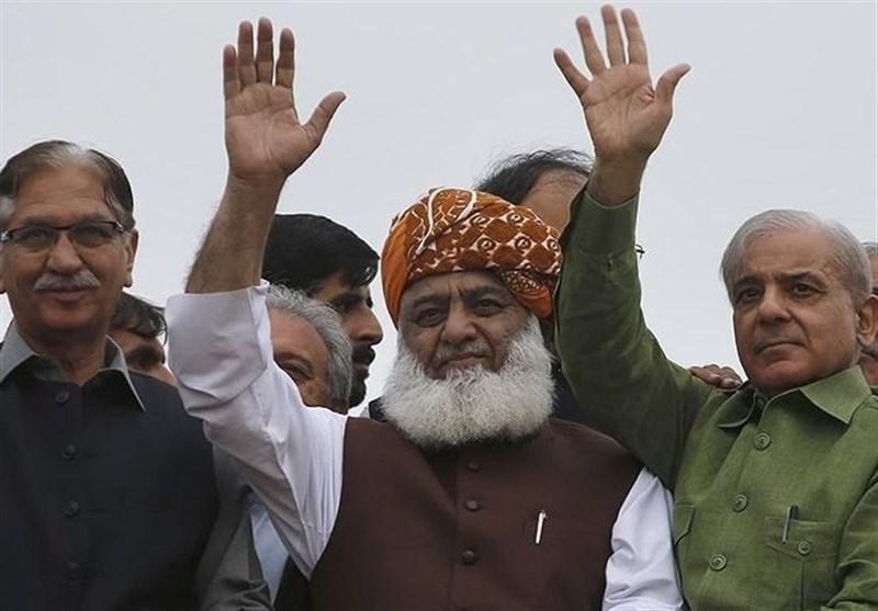 ائتلاف احزاب اپوزیسیون پاکستان پیش از آغاز به کار با خطر انحلال روبرو شد