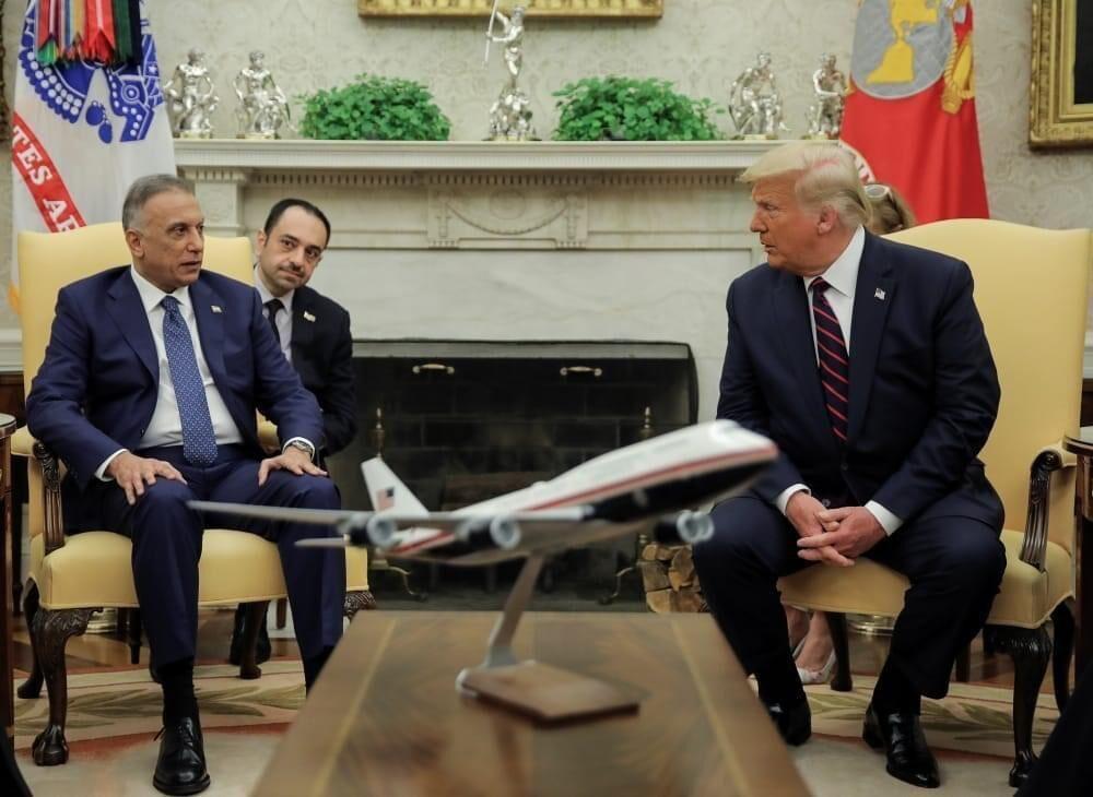 خبرنگاران الکاظمی: روابط عراق و آمریکا وارد مرحله تازه شده است