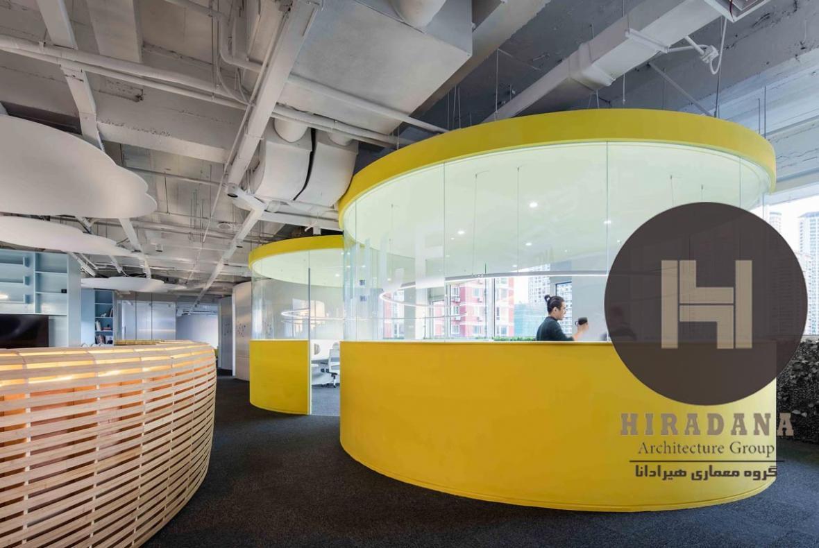 طراحی داخلی اداری شیاو مدیا در پکن