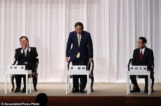 آغاز کمپین انتخابات معین رهبر جدید حزب حاکم ژاپن