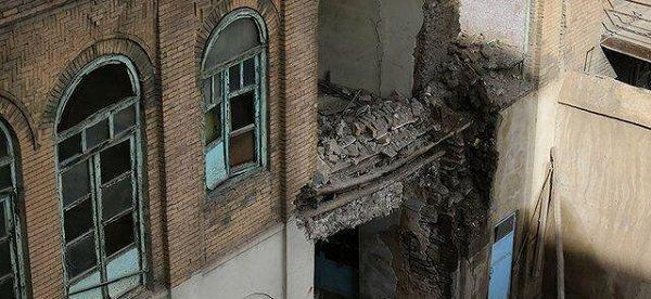 بازسازی عمارت جنانی همدان خوب پیش می رود