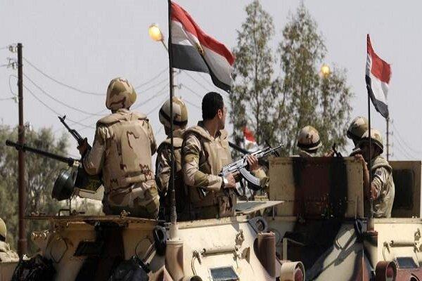 کشته شدن افسر ارتش مصر در شمال سینا