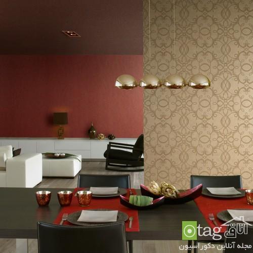مدل کاغذ دیواری جدید برای دیوارهای عظیم و بلند در منزل
