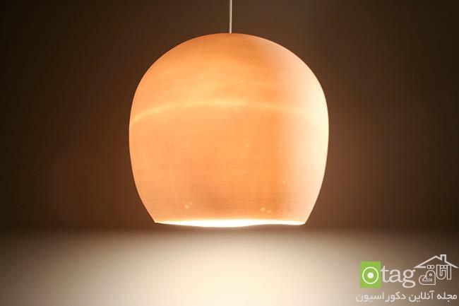 آشنایی با 20 مدل چراغ آویز سقفی چینی و شیشه ای جدید و زیبا