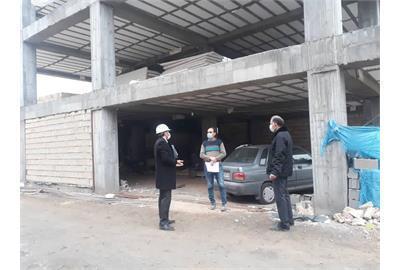 هفت کارگاه ساختمانی ناایمن در بجنورد پلمپ شد