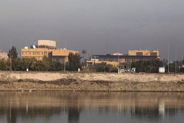 سفارت آمریکا در قلب بغداد پادگانی نظامی است