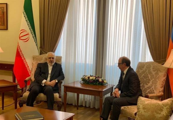 ملاقات ظریف با وزیر خارجه ارمنستان