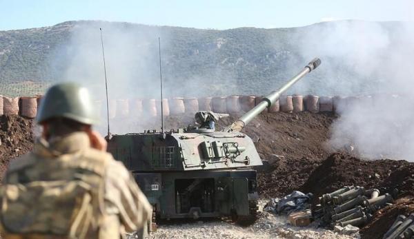 حملات سنگین ترکیه به شمال الرقه
