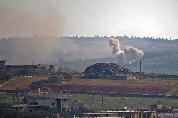 تروریست ها 24 بار ادلب سوریه را گلوله باران کردند