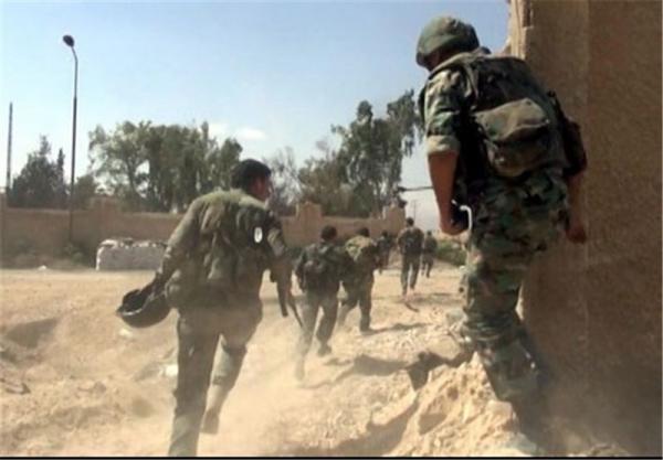 انهدام یک گروه تروریستی در حومه دمشق