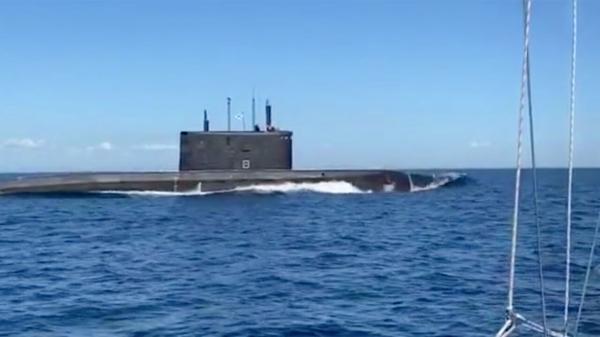 ناپدید شدن زیردریایی روسیه در دریای سیاه