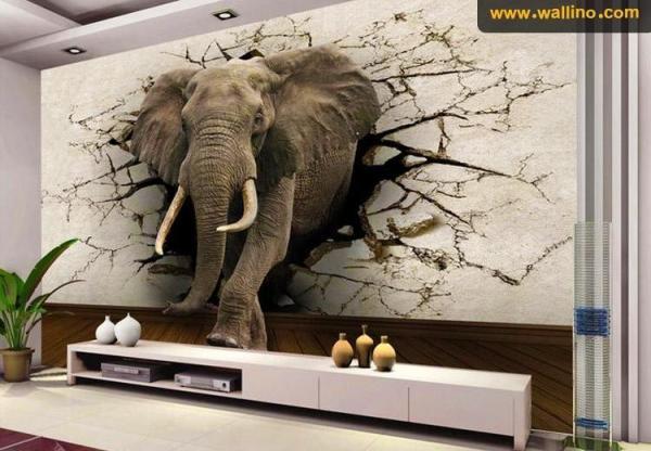کاغذ دیواری و پوستر دیواری های ارزان و مدرن در دکوراسیون داخلی