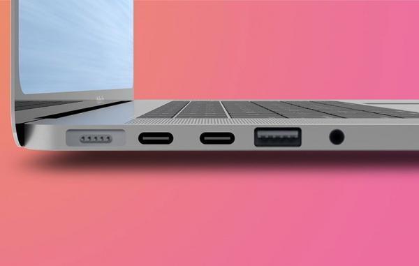 طرح های دزدیده شده توسعه مک بوک پرو با پورت های بیشتر را تایید می نماید
