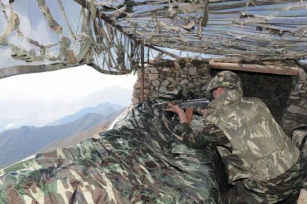 یک نظامی آذری در مرز آذربایجان و ارمنستان مجروح شد