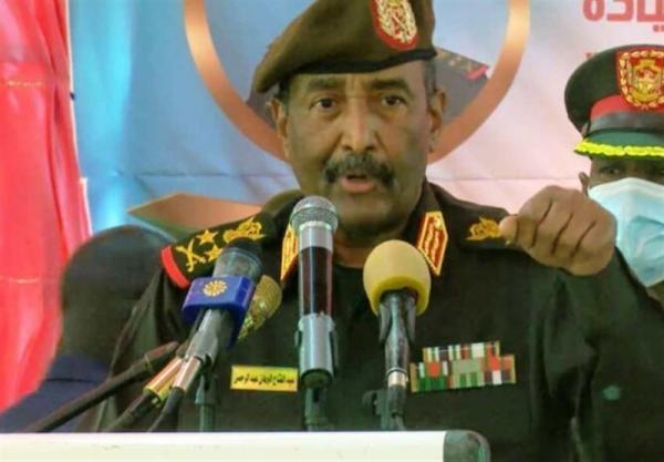 سودان، کناره گیری برهان از قدرت بعد از اتمام حاکمیت نظامیان ، آماده باش 100 درصدی پلیس خارطوم