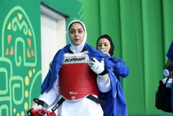 دانشجوی دانشگاه آزاد قائم شهر در مسابقات تکواندوی بانوان آسیا پیروز به کسب مدل شد