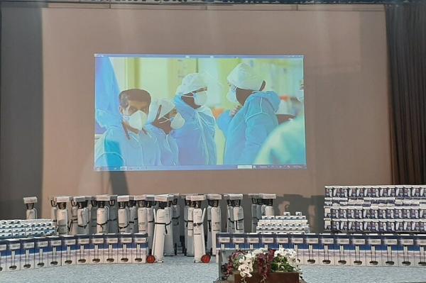 خبرنگاران 6 میلیارد ریال تجهیزات مقابله با کرونا به مراکز درمانی اصفهان اهدا شد