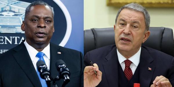 تماس تلفنی وزیران دفاع آمریکا و ترکیه درباره امنیت فرودگاه کابل