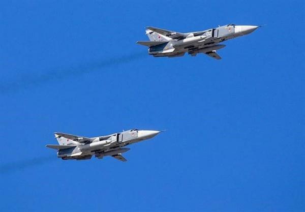جنگنده های روسیه نابودی کشتی های مهاجم را تمرین کردند