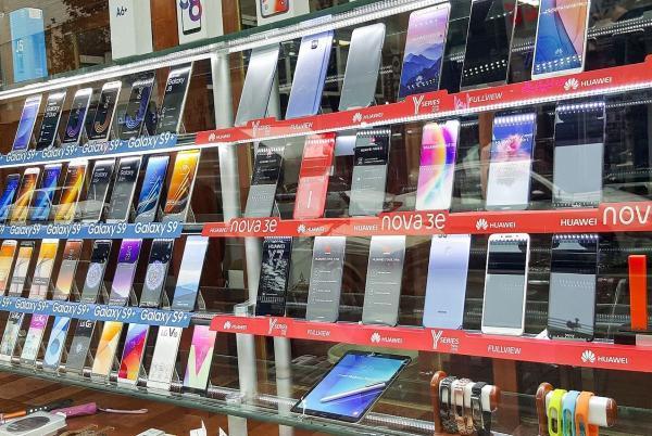 قیمت گوشی های سامسونگ، شیائومی، هوآوی و آیفون سیزدهم تیر 1400