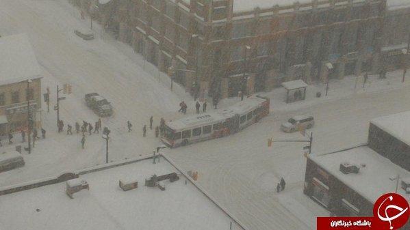 ویزای کانادا: توفان سهمگین برف در اتاوا به روایت تصویر